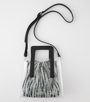 CLEAR TIE-DYE BAG/クリアタイダイバッグ【MOOK52掲載 90413】
