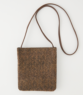 MESH TWO IN ONE SHOULDERBAG/メッシュツーインワンショルダーバッグ