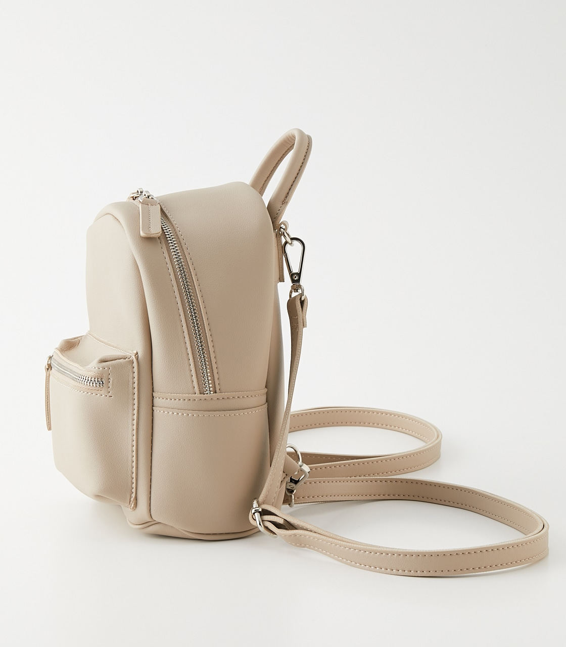 2WAY MINI BACKPACK/2WAYミニバックパック 詳細画像 L/BEG 2