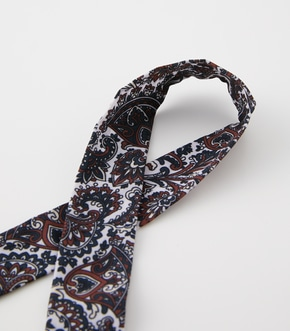 FLOWER PAISLEY SCARF NECKLACE/フラワーペイズリースカーフネックレス【MOOK52掲載 90422】 詳細画像