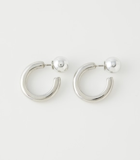 BALL BACK METAL EARRINGS/ボールバックメタルピアス【MOOK52掲載 90436】
