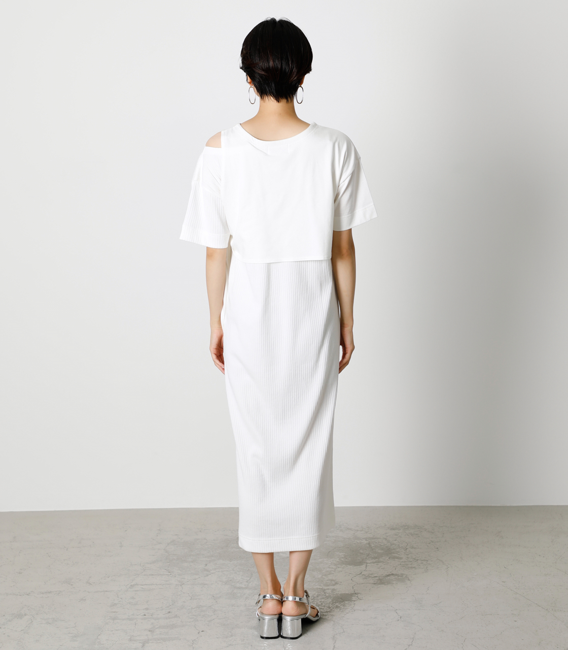 FRONT LINK ONEPIECE/フロントリンクワンピース 詳細画像 O/WHT 6