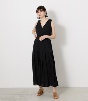 CREPE TIERED ONEPIECE/クレープティアードワンピース