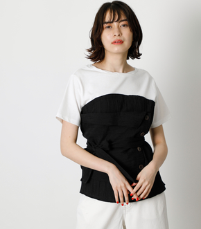 BUTTON COMBINATION TOP/ボタンコンビネーショントップ