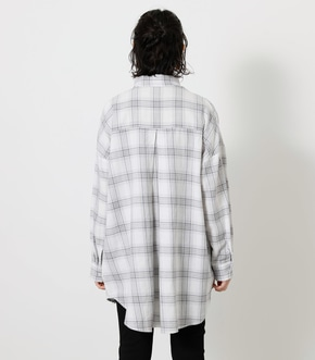 CHECK LOOSE SHIRT/チェックルーズシャツ 詳細画像