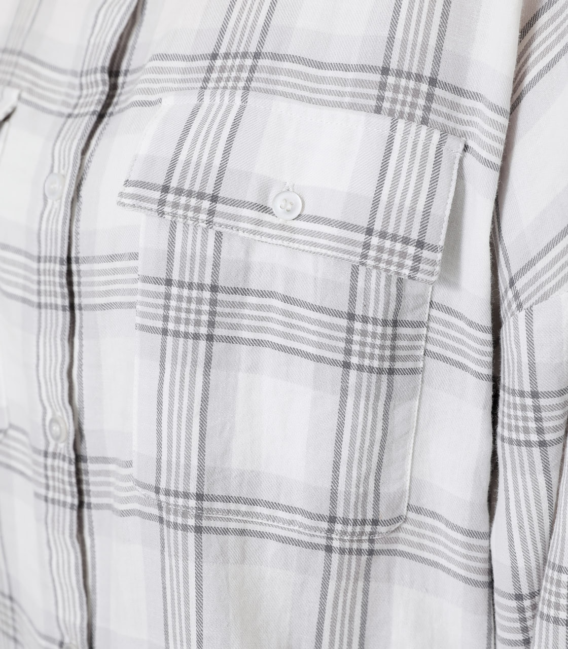 CHECK LOOSE SHIRT/チェックルーズシャツ 詳細画像 柄WHT 8
