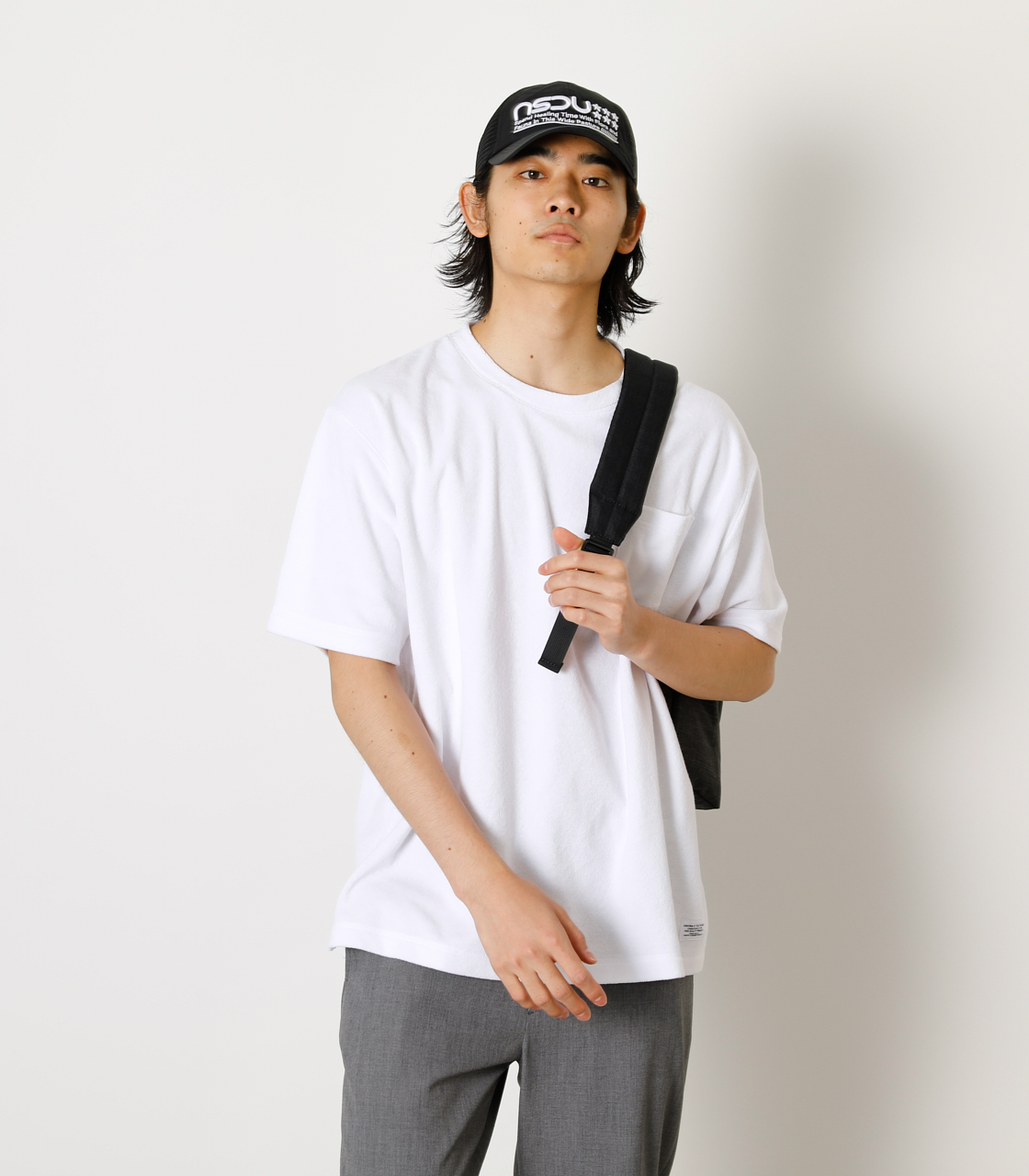 LOOSE PILE TOPS/ルーズパイルトップス 詳細画像 WHT 1