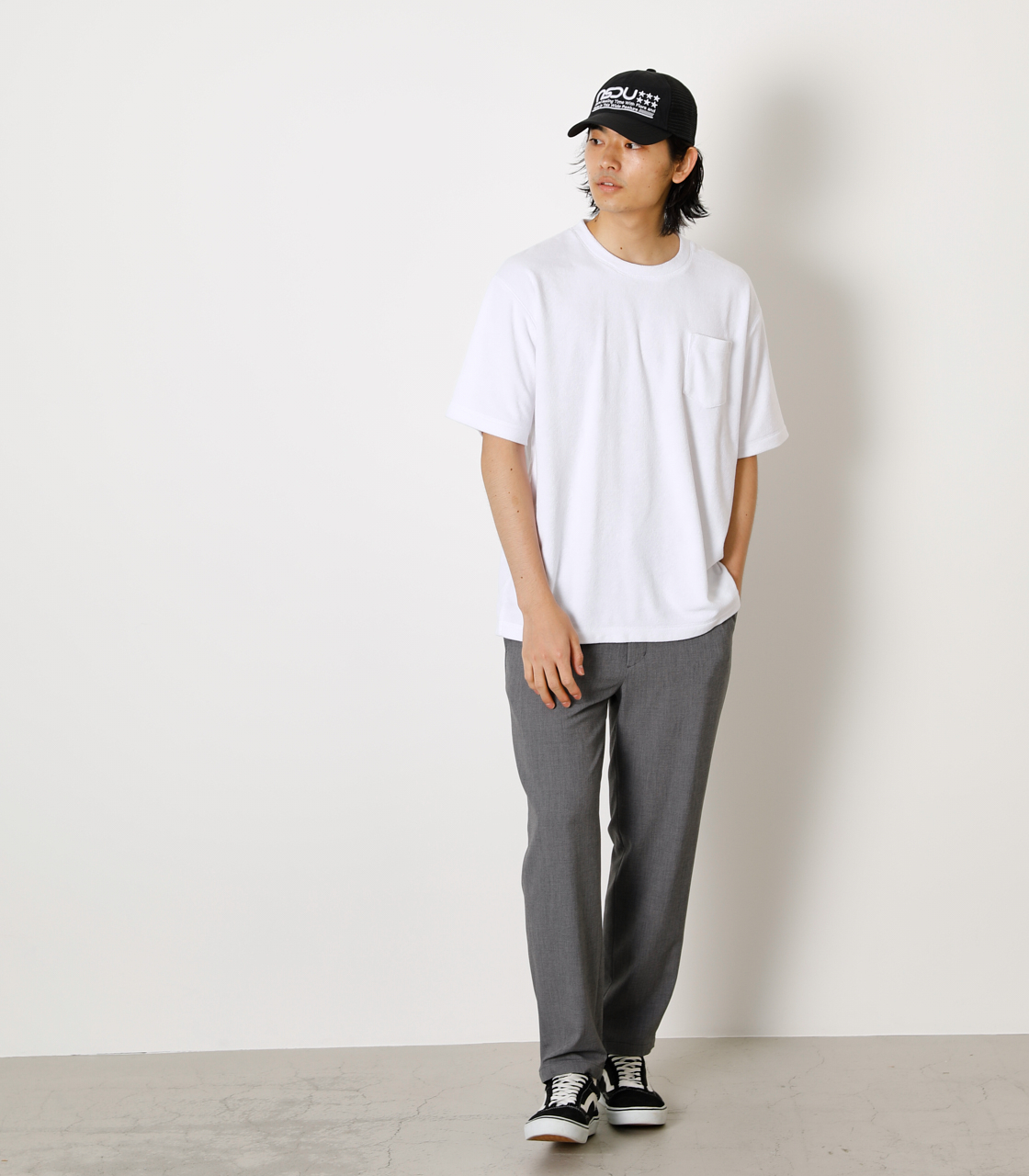 LOOSE PILE TOPS/ルーズパイルトップス 詳細画像 WHT 3