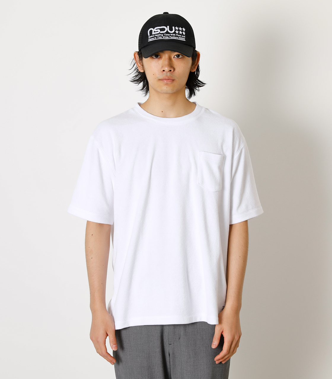 LOOSE PILE TOPS/ルーズパイルトップス 詳細画像 WHT 4