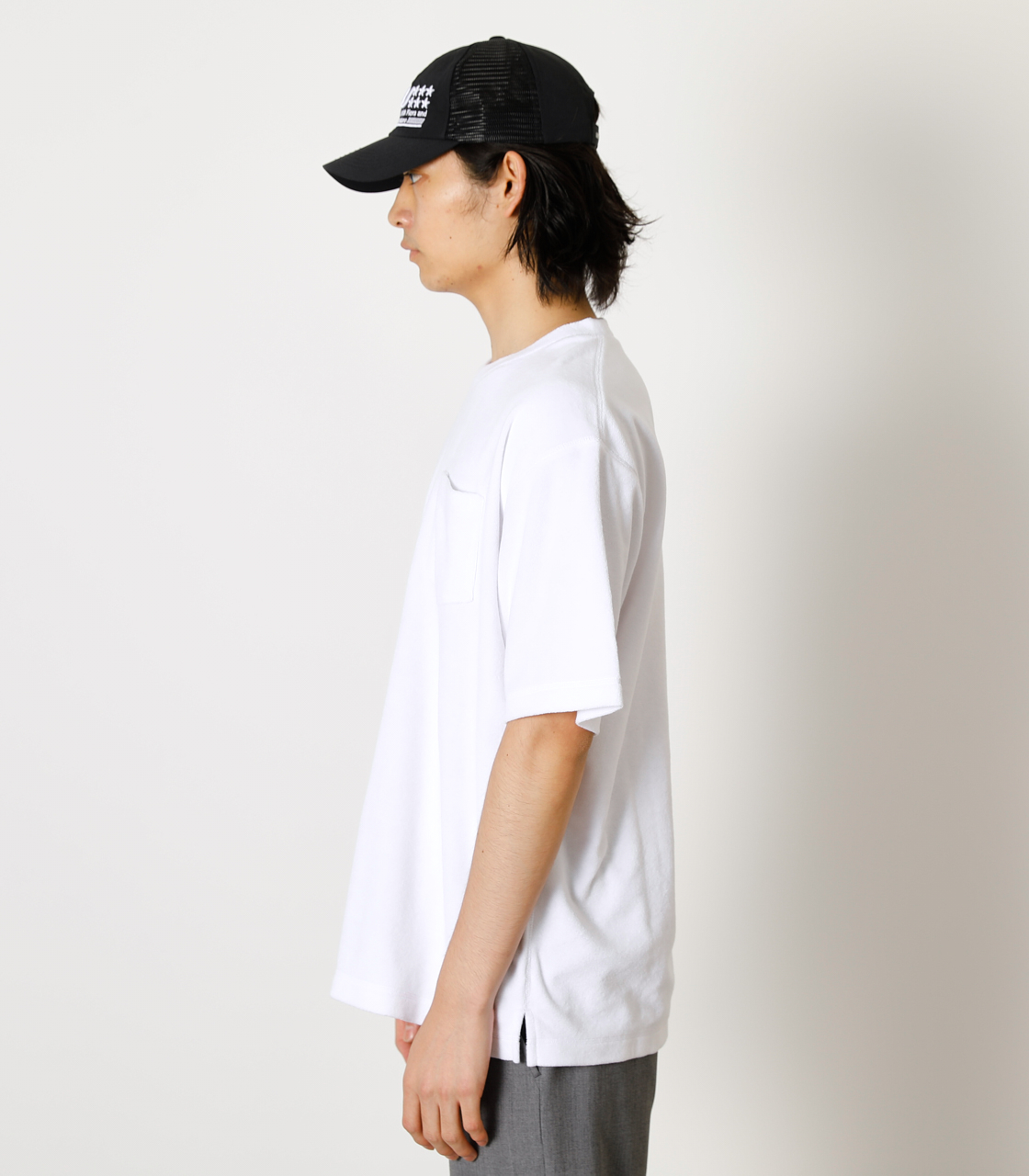 LOOSE PILE TOPS/ルーズパイルトップス 詳細画像 WHT 5