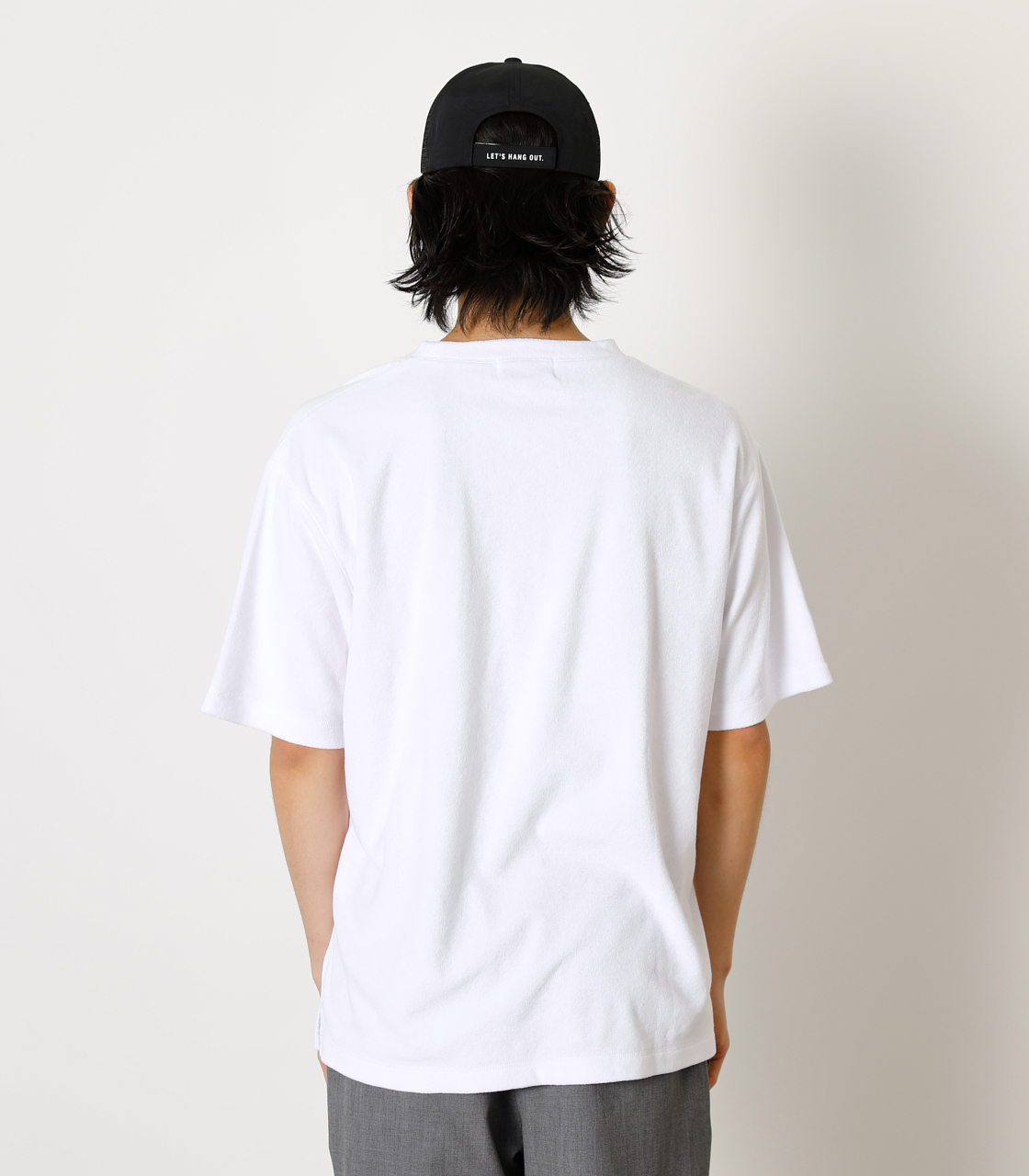 LOOSE PILE TOPS/ルーズパイルトップス 詳細画像 WHT 6