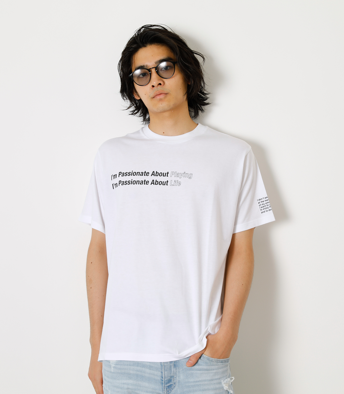 PASSIONATE ABOUT TEE/パッショネイトアバウトTシャツ 詳細画像 WHT 1