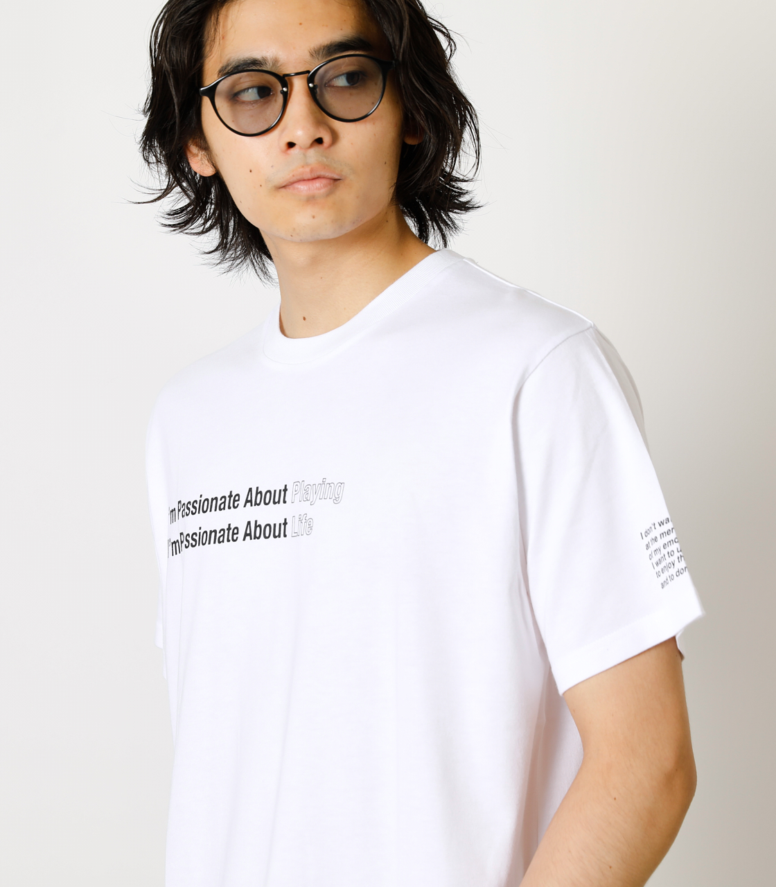 PASSIONATE ABOUT TEE/パッショネイトアバウトTシャツ 詳細画像 WHT 2