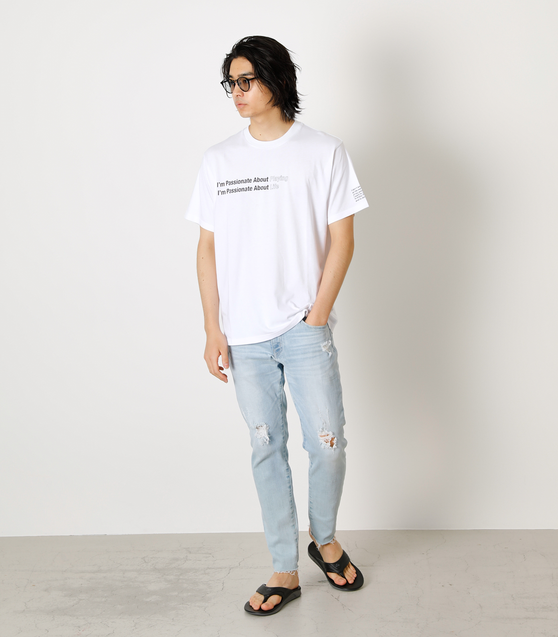 PASSIONATE ABOUT TEE/パッショネイトアバウトTシャツ 詳細画像 WHT 3