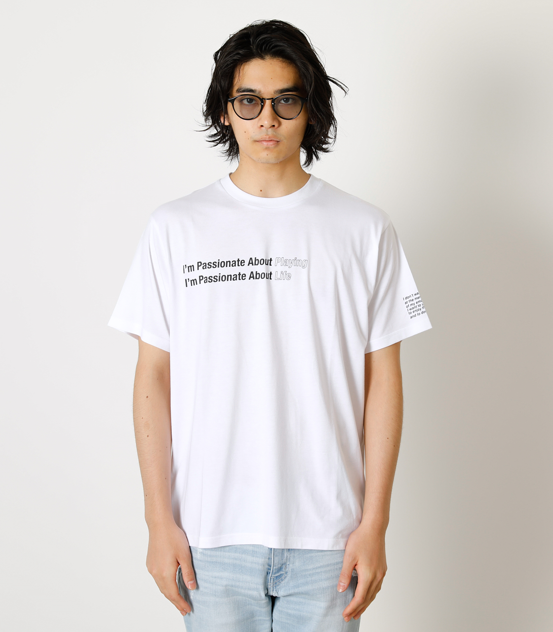 PASSIONATE ABOUT TEE/パッショネイトアバウトTシャツ 詳細画像 WHT 4