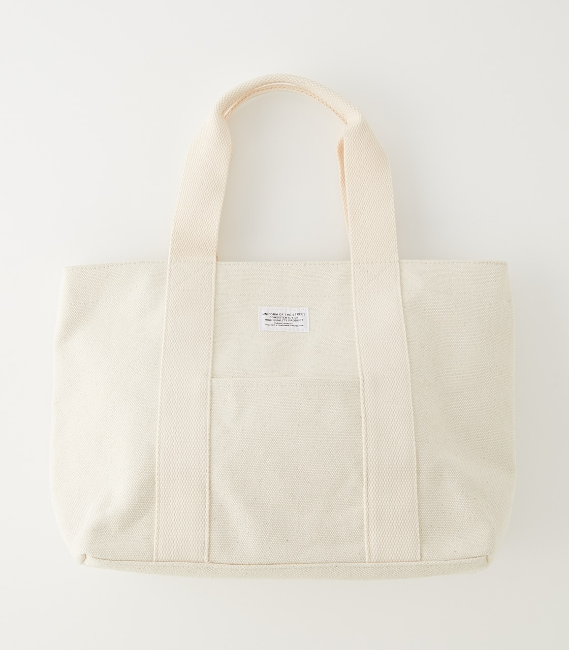 CANVAS MINI TOTE BAG/キャンバスミニトートバッグ 詳細画像 O/WHT 1