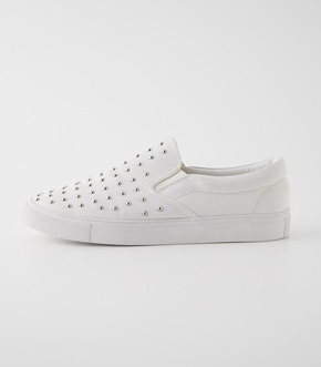 STUDS SLIP-ON SHOES/スタッズスリップオンシューズ