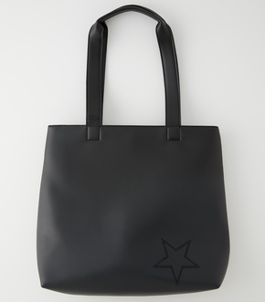 ECO LEATHER ONE STAR TOTE/エコレザーワンスタートート