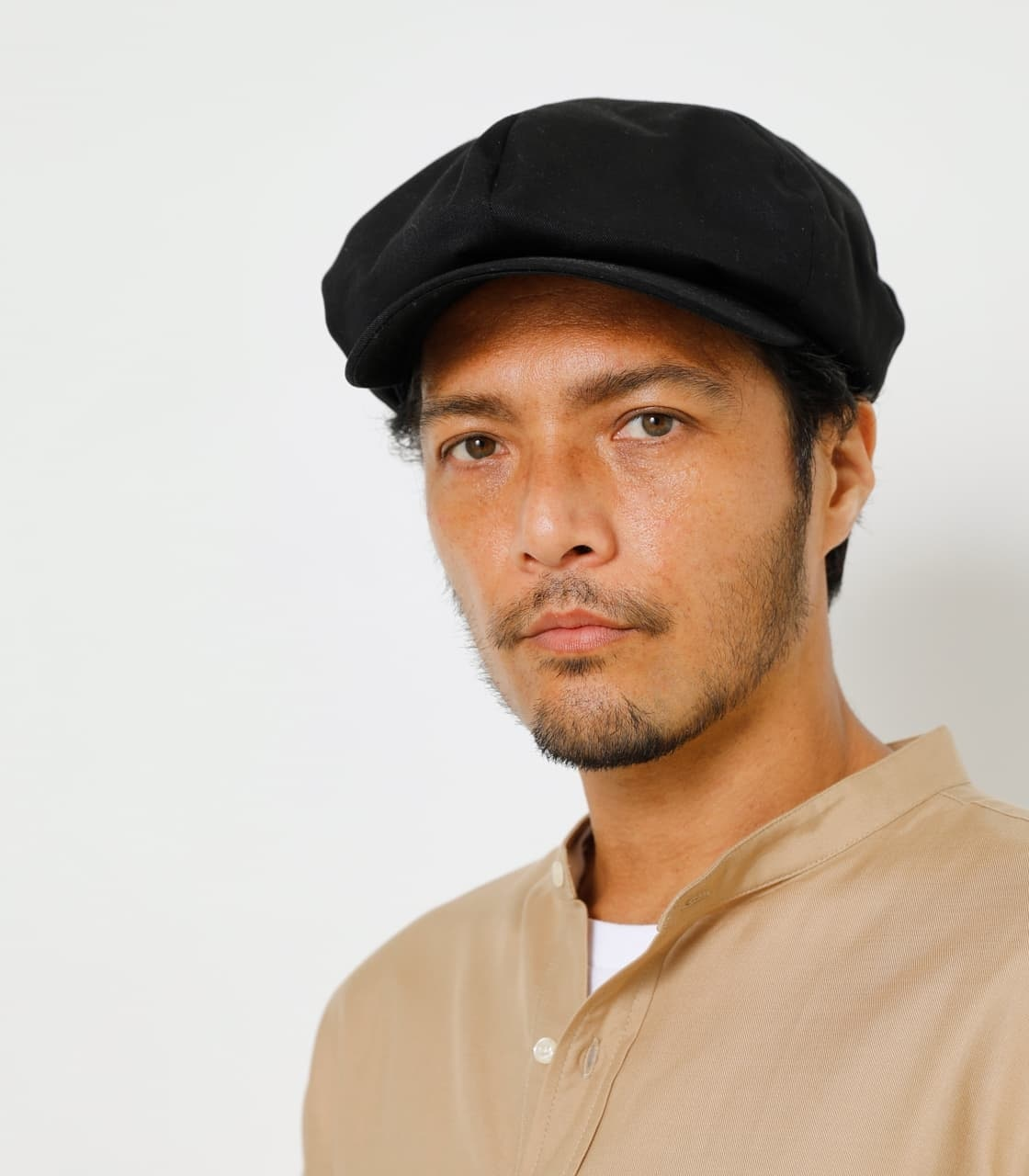 COTTON TWILL CASQUETTE/コットンツイルキャスケット 詳細画像 BLK 2
