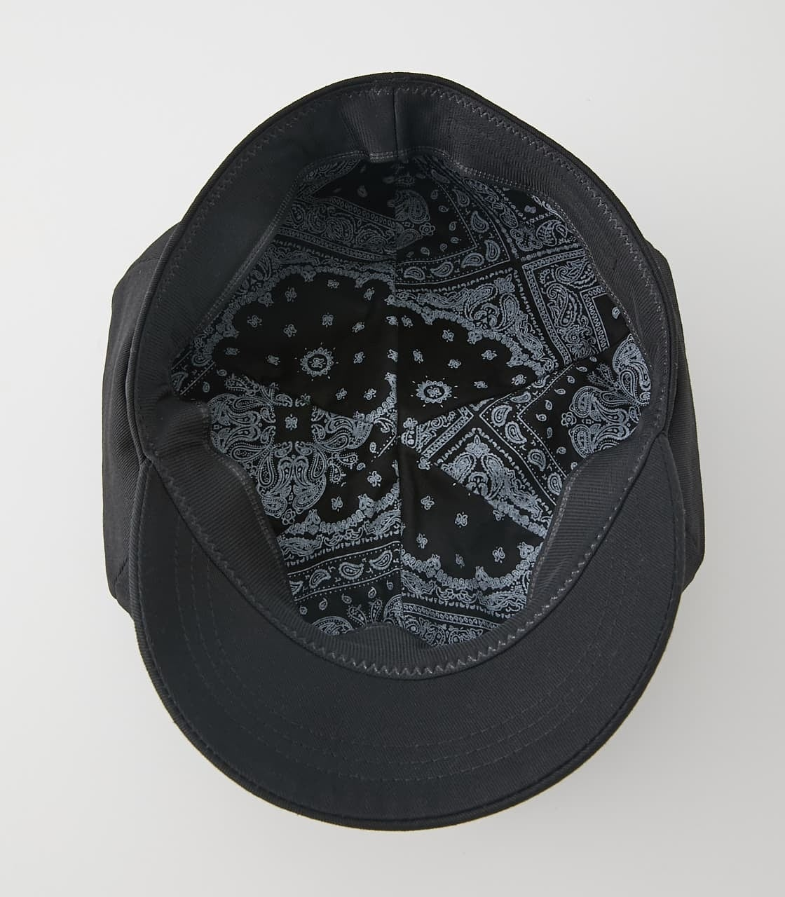 COTTON TWILL CASQUETTE/コットンツイルキャスケット 詳細画像 BLK 8