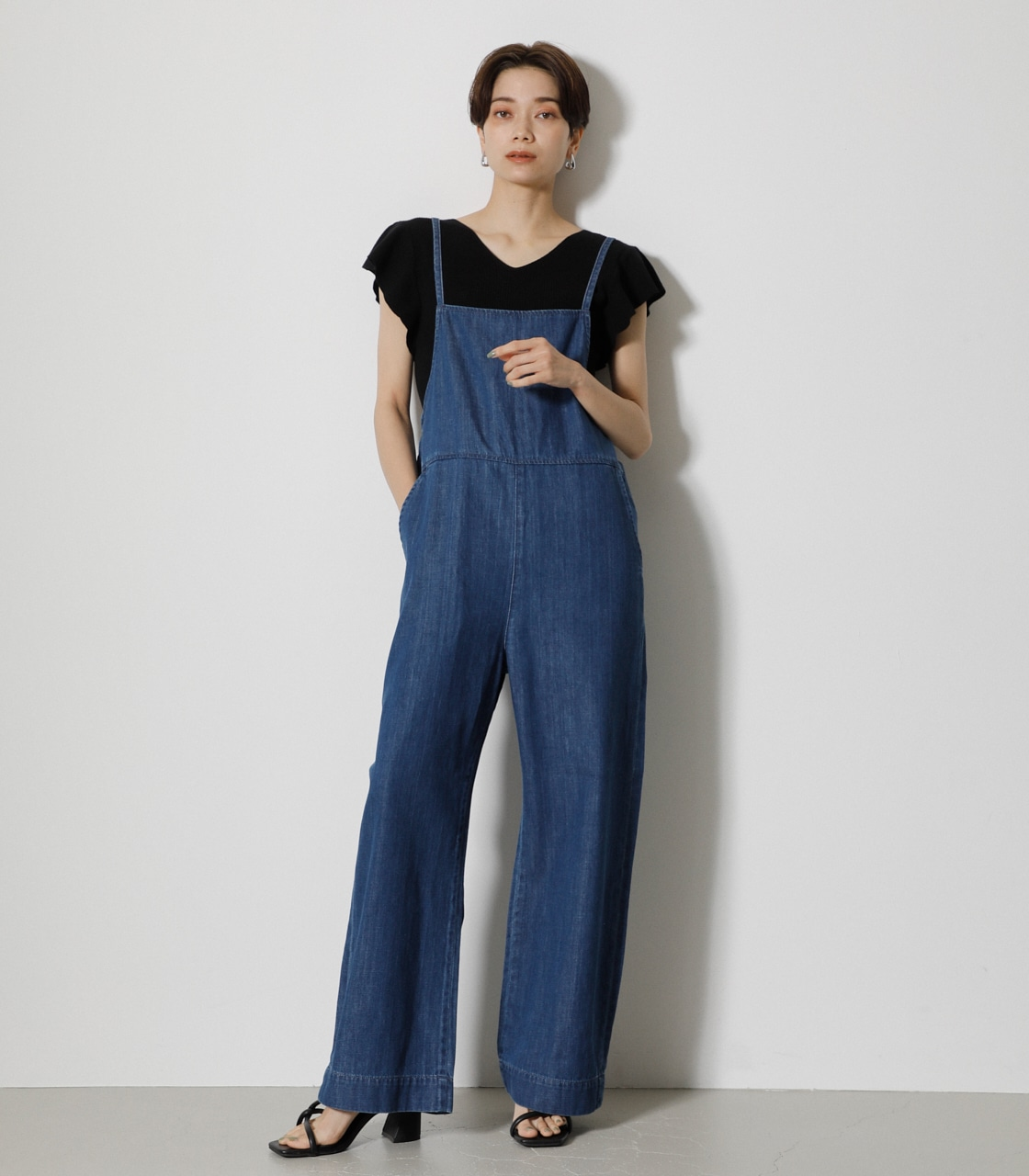 LEE×AZUL DENIM SALOPETTE/LEE×AZULデニムサロペット
