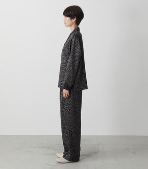 T/H SATIN L/S PAJAMAS/T/Hサテンロングスリーブパジャマ 詳細画像