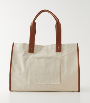 LINEN LIKE BIG TOTE BAG/リネンライクビッグトートバッグ【MOOK54掲載 90229】