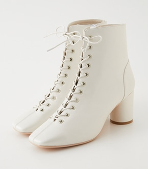 SQUARE TOE LACE UP BOOTS/スクエアトゥレースアップブーツ