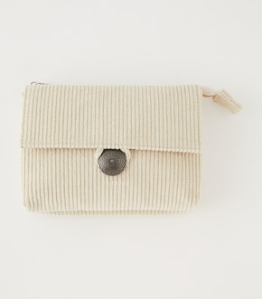 CONCHO CORDUROY POUCH/コンチョコーデュロイポーチ
