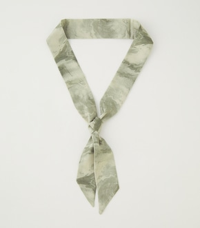 MARBLE SCARF NECKLACE/マーブルスカーフネックレス