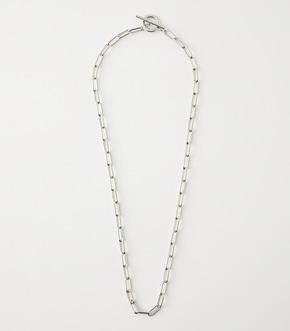 ASYMMETRY CHAIN NECKLACE/アシンメトリーチェーンネックレス