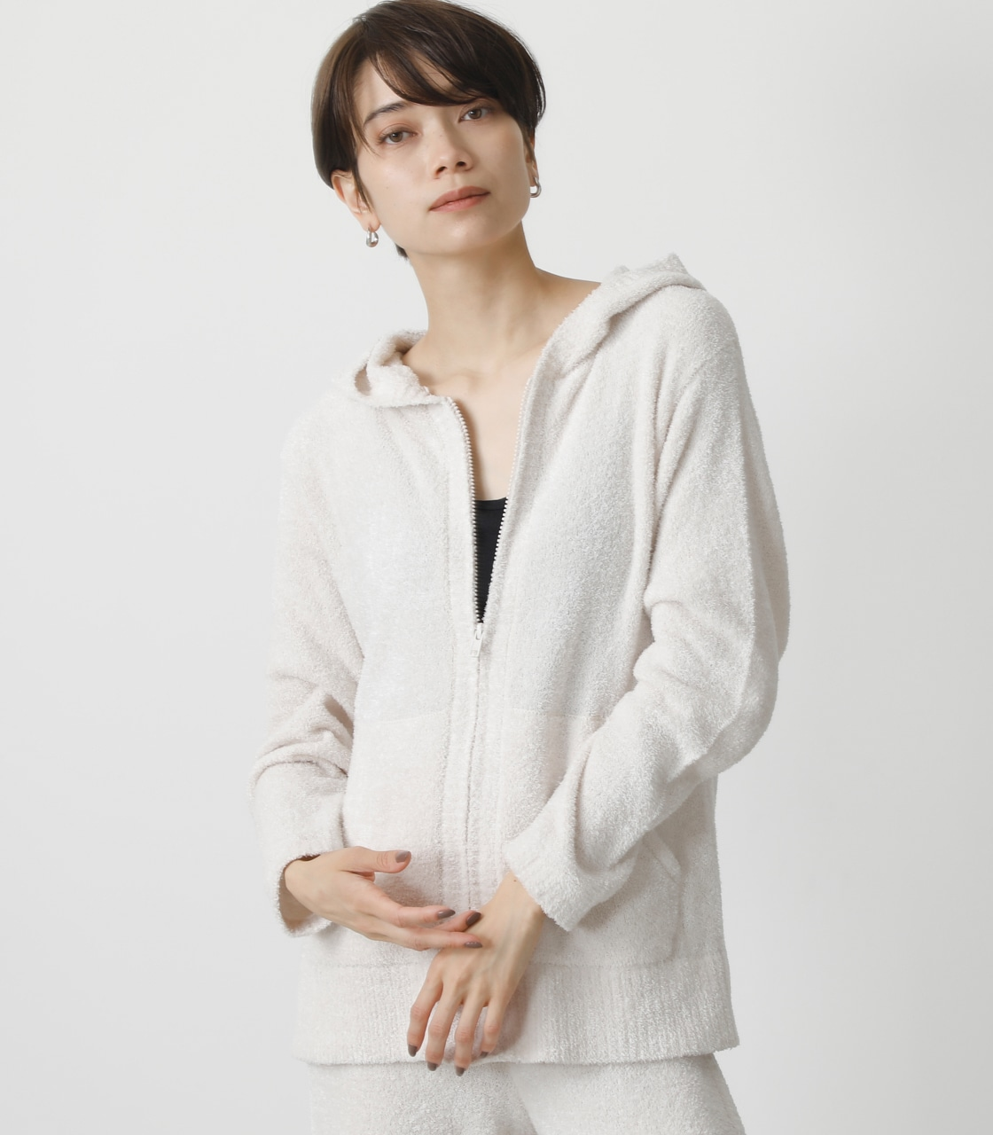 T/H FLUFFY HOODIE/T/Hフラッフィーフーディ 詳細画像 IVOY 1
