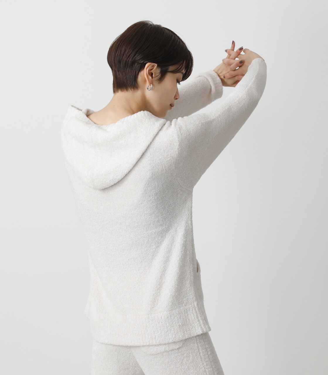 T/H FLUFFY HOODIE/T/Hフラッフィーフーディ 詳細画像 IVOY 2
