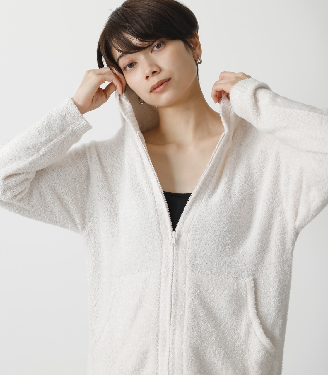 T/H FLUFFY HOODIE/T/Hフラッフィーフーディ 詳細画像 IVOY 3
