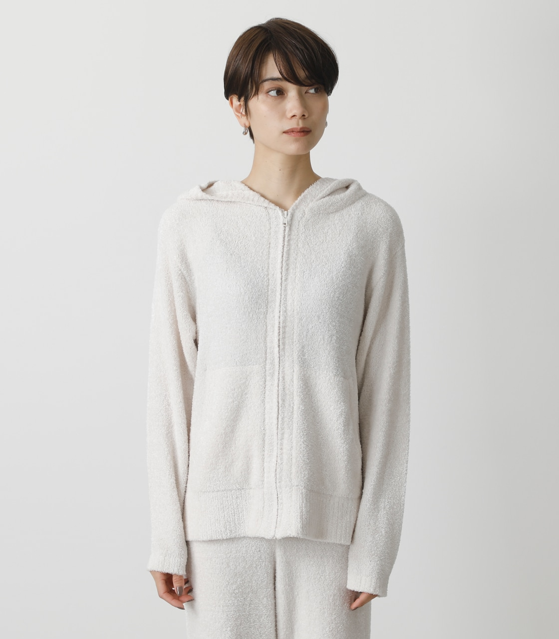 T/H FLUFFY HOODIE/T/Hフラッフィーフーディ 詳細画像 IVOY 5