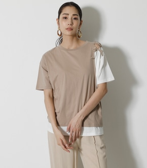 LACE-UP LAYER TOPS/レースアップレイヤートップス