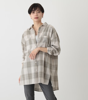 CHECK OVER SHIRT/チェックオーバーシャツ