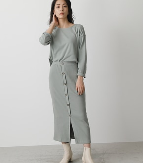 FRONT BUTTON CUT ONEPIECE/フロントボタンカットワンピース