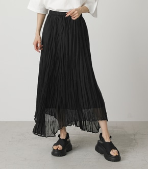 WASHER PLEATS SKIRT/ワッシャープリーツスカート