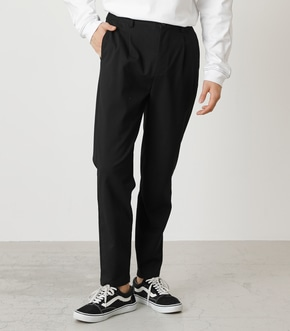 ONE TACK TAPERED SLACKS/ワンタックテーパードスラックス