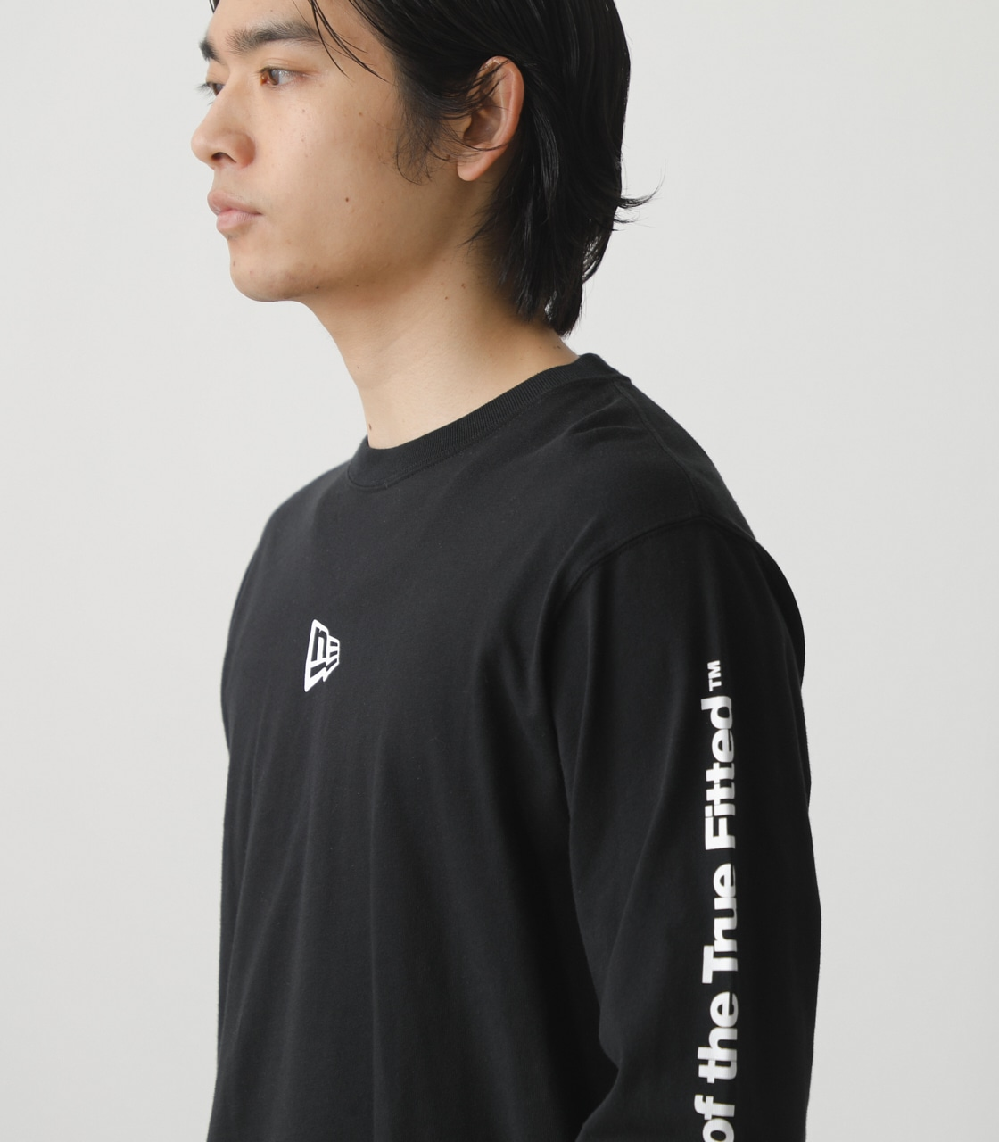 NEW ERA×AZUL LONG T-SHIRTS/NEW ERA×AZULロングTシャツ 詳細画像 BLK 3