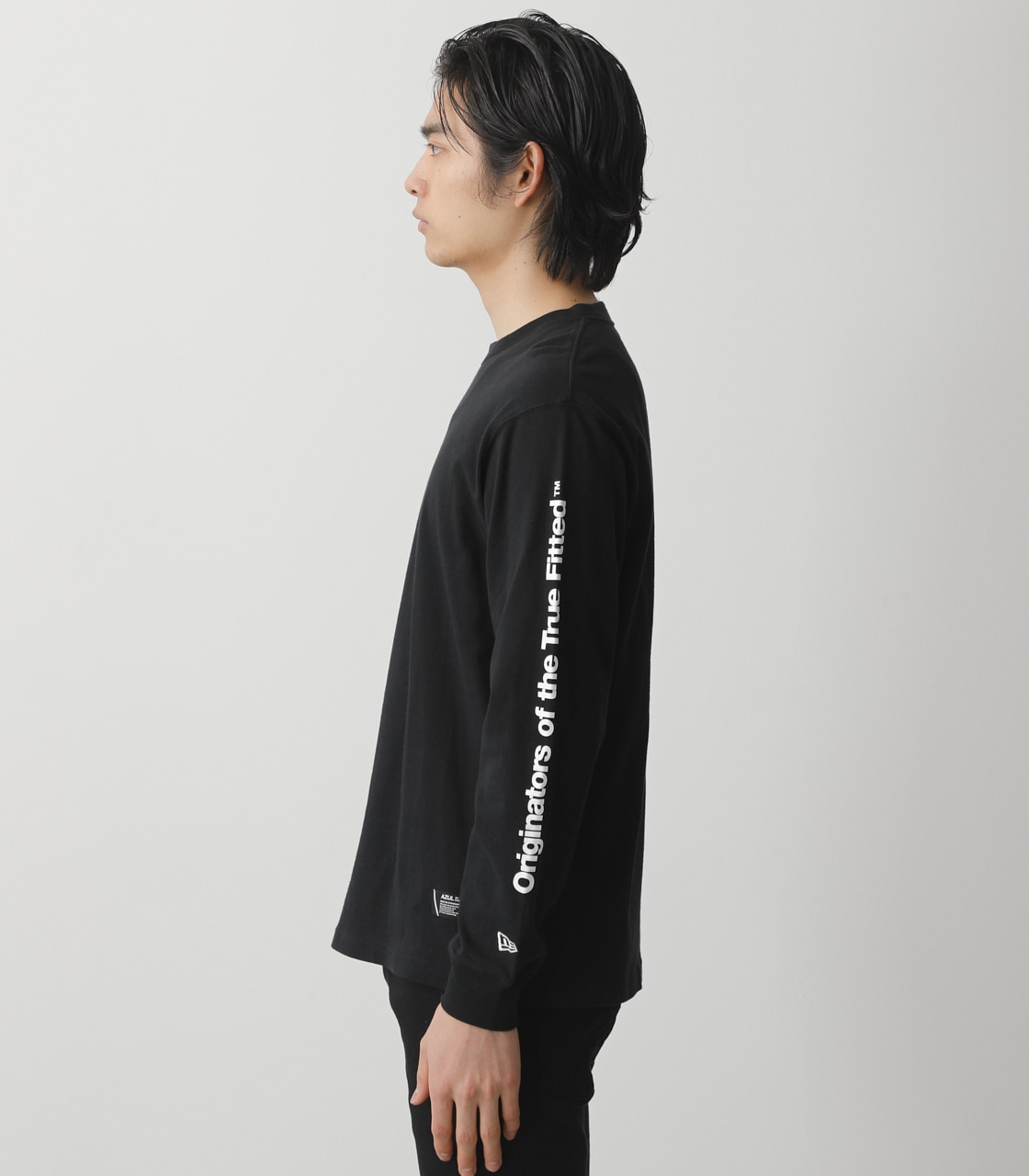 NEW ERA×AZUL LONG T-SHIRTS/NEW ERA×AZULロングTシャツ 詳細画像 BLK 6