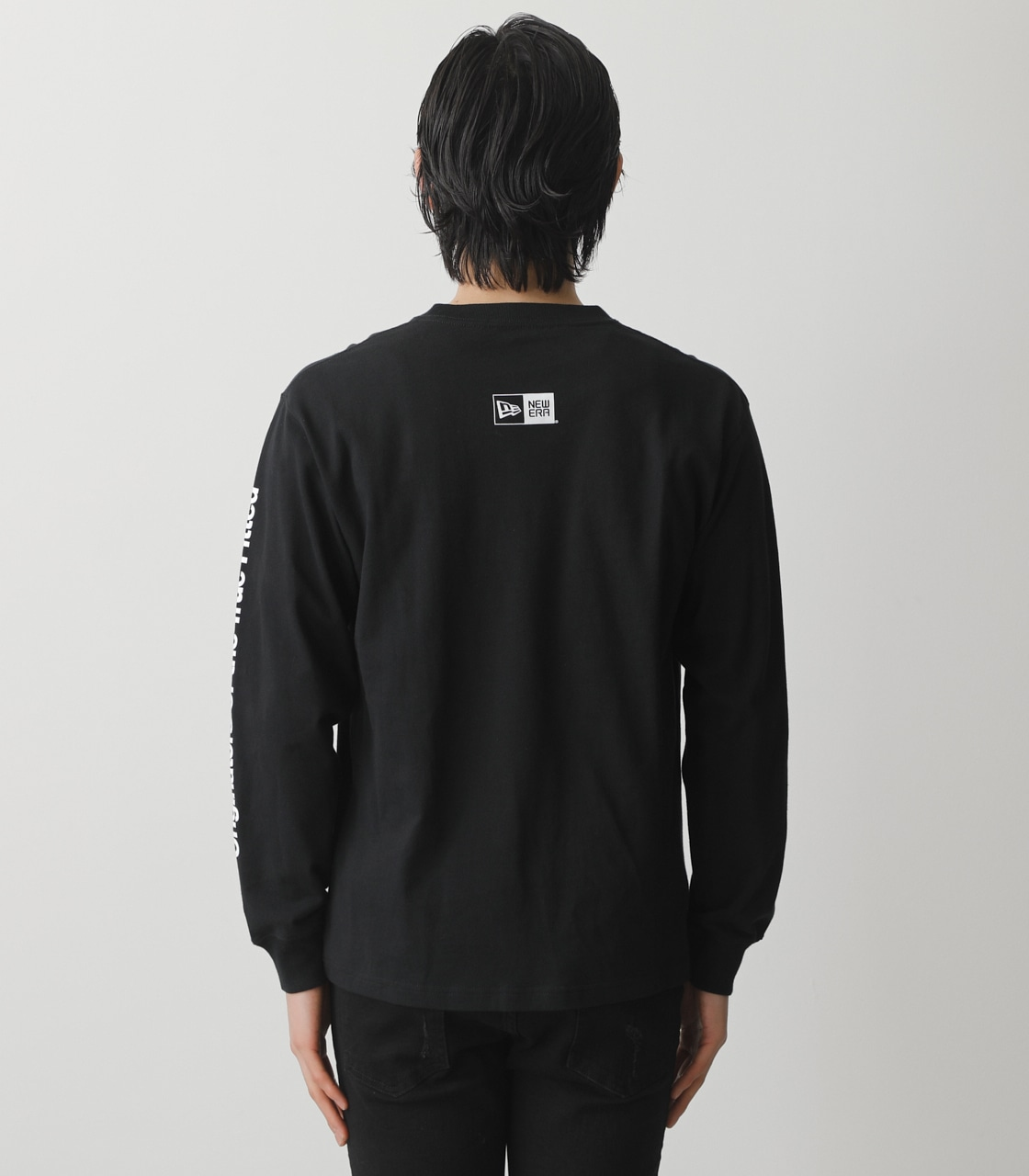 NEW ERA×AZUL LONG T-SHIRTS/NEW ERA×AZULロングTシャツ 詳細画像 BLK 7