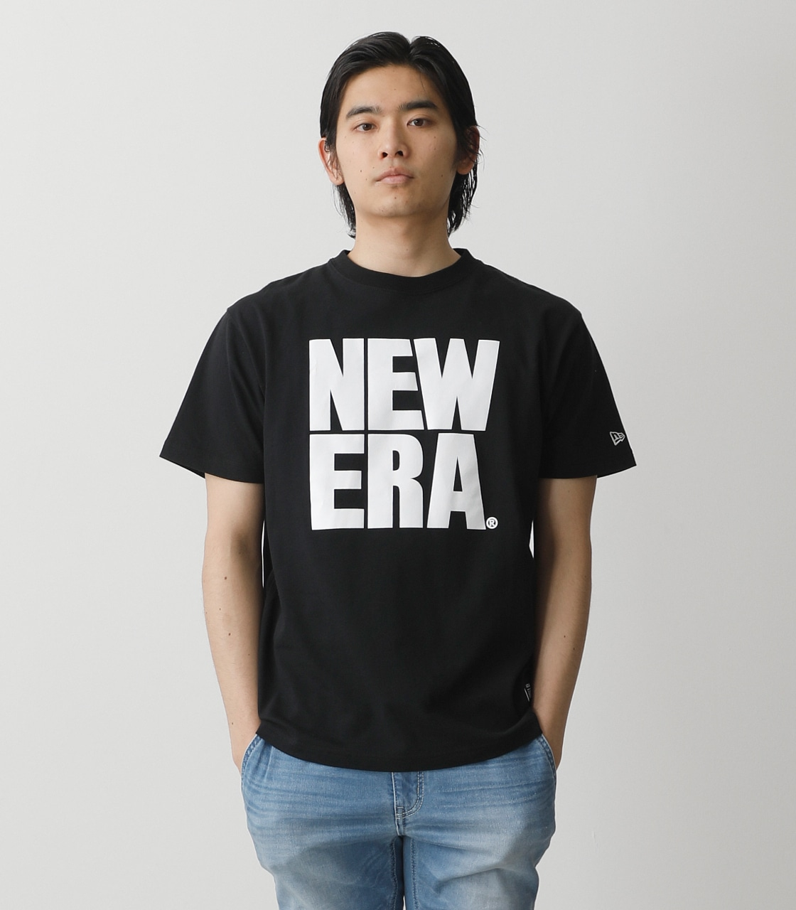 NEW ERA×AZUL T-SHIRTS/NEW ERA×AZULTシャツ 詳細画像 BLK 1