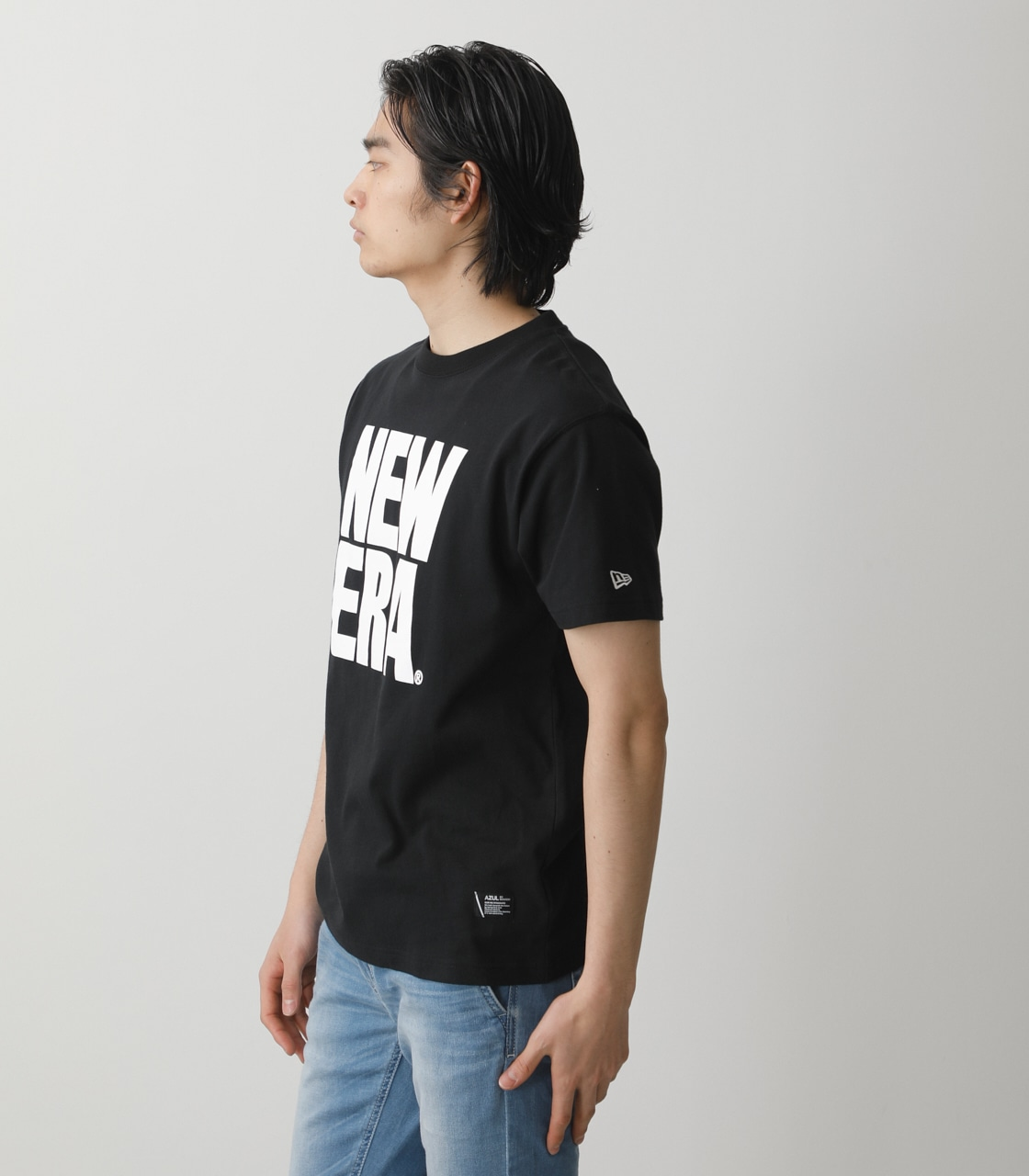 NEW ERA×AZUL T-SHIRTS/NEW ERA×AZULTシャツ 詳細画像 BLK 2
