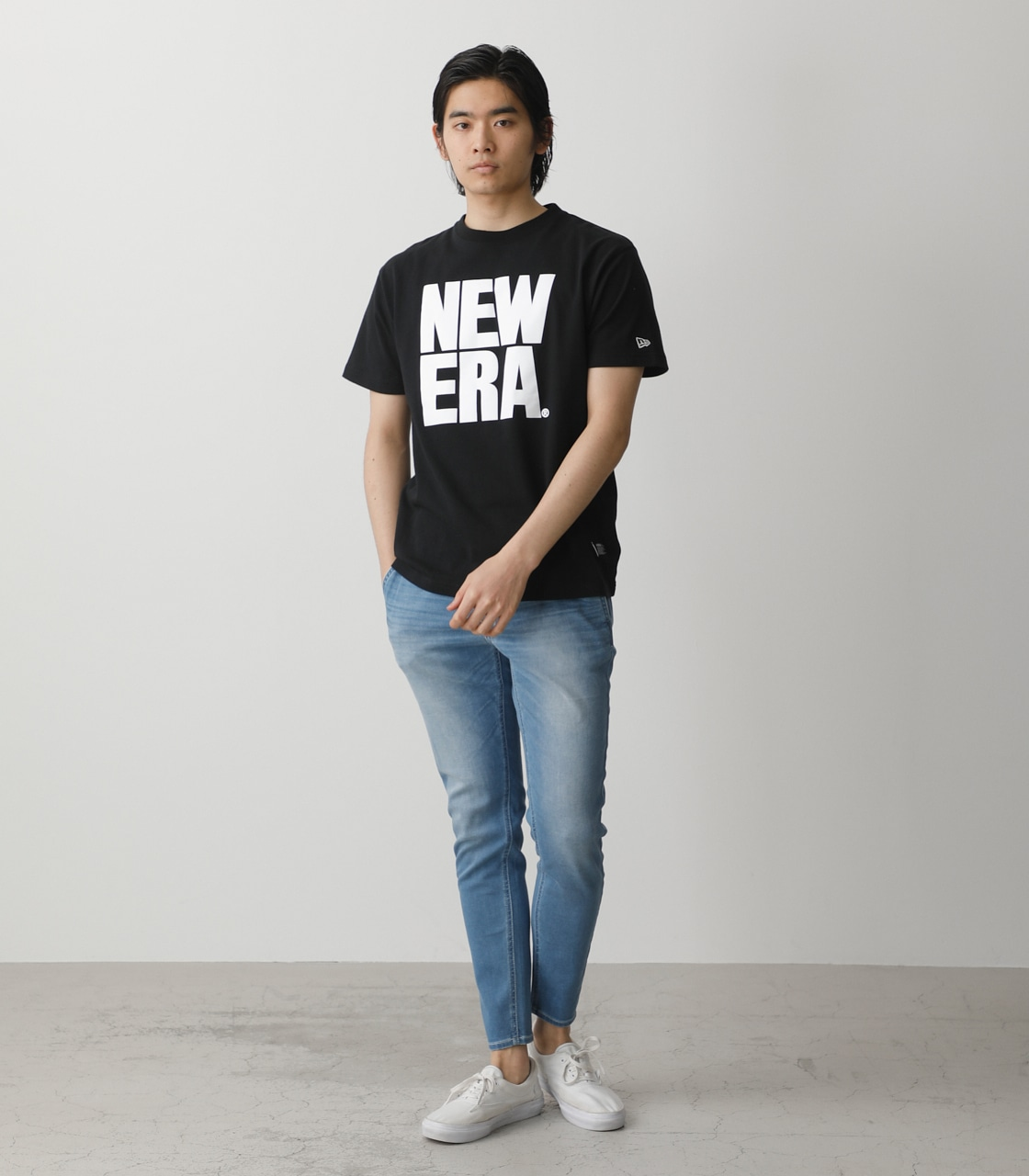 NEW ERA×AZUL T-SHIRTS/NEW ERA×AZULTシャツ 詳細画像 BLK 4