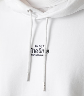 THE ONCE HOODIE/ザワンスフーディ 詳細画像