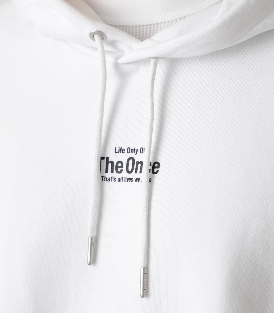THE ONCE HOODIE/ザワンスフーディ 詳細画像 WHT 9