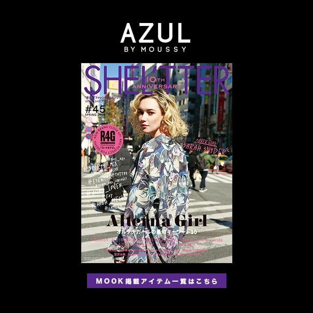 AZUL BY MOUSSY MOOK#45