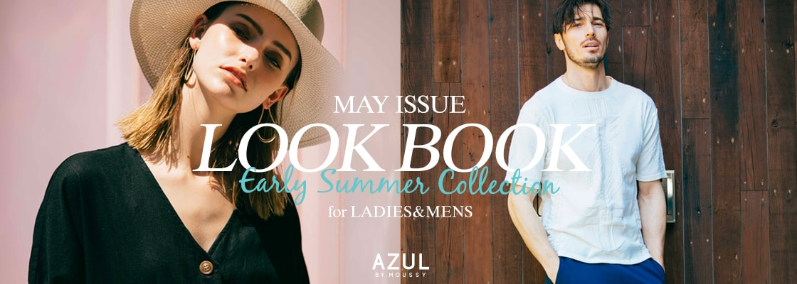 AZUL BY MOUSSYMAY ISSUE LOOK BOOK Early Summer Collection